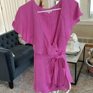 pink lily Pants - Romper